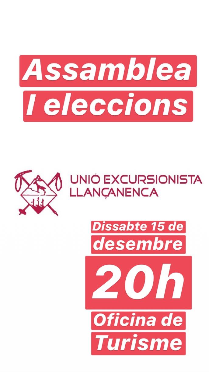 15 de desembre Assamblea / eleccions