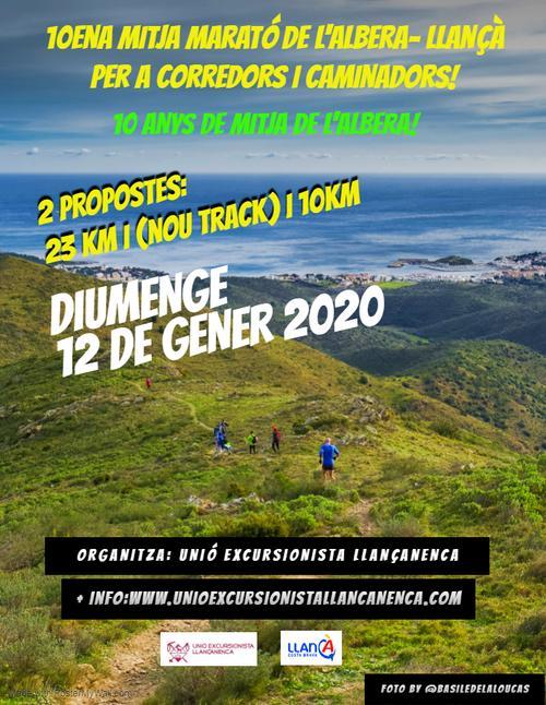 12 de gener 2020 – 10à Mitja Marató de l'Albera
